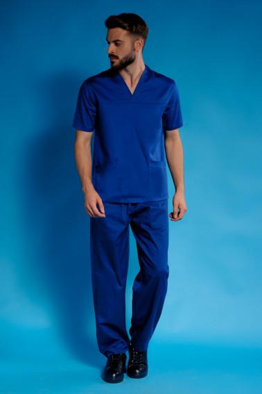 Uniforma medicala albastra