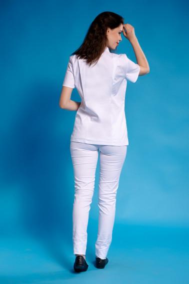 Uniformă medicală damă albă - Medical - Davido Design