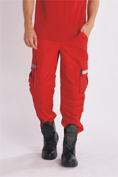 Pantaloni swat rosii