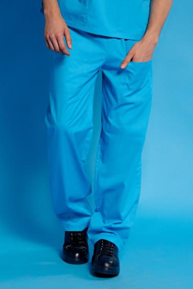 Pantaloni albastru deschis