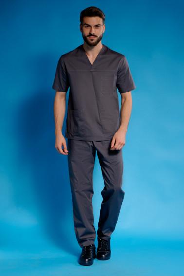 Uniforma medicala gri