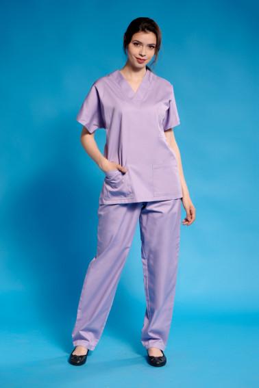 Uniforma curatenie lilac