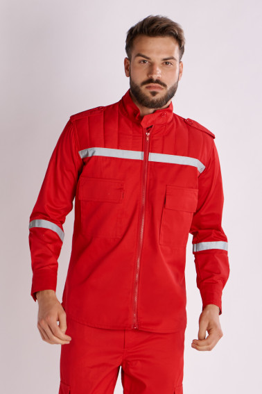 Bluzon pază swat roşu