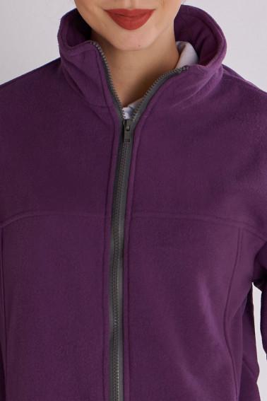 Hanorac fleece damă mov - Retail - Davido Design
