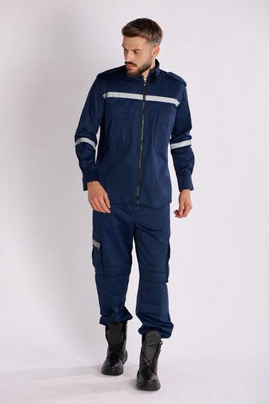 Costum paza bleumarin
