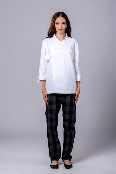 Uniformă bucătar damă Monte Carlo
