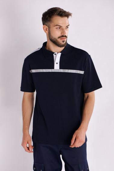 Tricou pază cu epoleţi - Pază și protecție - Davido Design