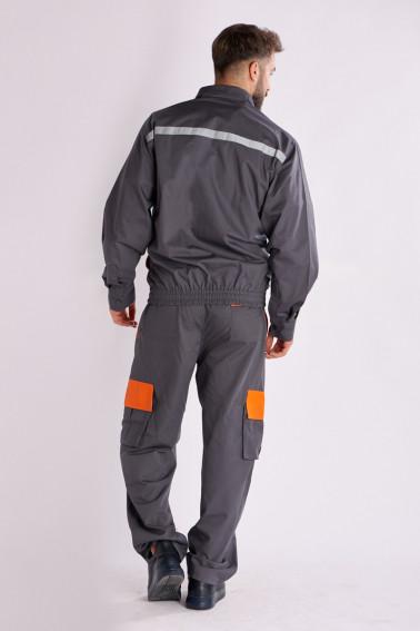 Salopetă de lucru gri - Industrial - Davido Design