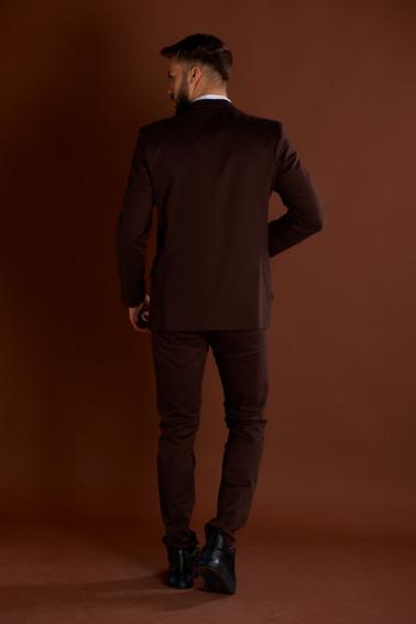 Costum stofa subţire maro - Restaurant - Davido Design
