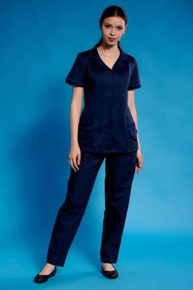Uniformă curaţenie bleumarin - Curatenie - Davido Design