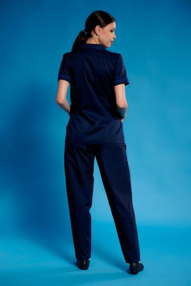 Uniforma curatenie bleumarin