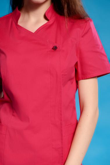 Uniformă medicală damă fucsia - Medical - Davido Design