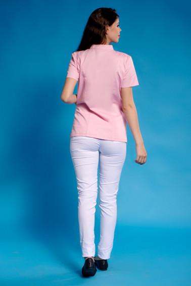 Bluza medicala roz